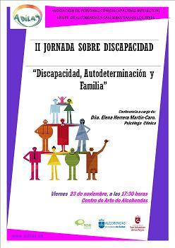 II Jornada ADILAS: DISCAPACIDAD, AUTODETERMINACIÓN Y FAMILIA