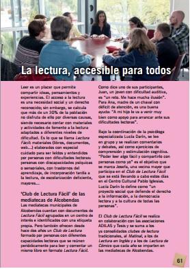 El Club de Lectura Fácil en Alcobendas en Fiestas