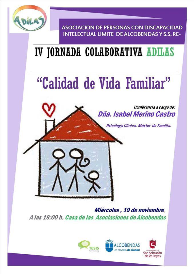 IV JORNADA COLABORATIVA ADILAS · Calidad de Vida Familiar